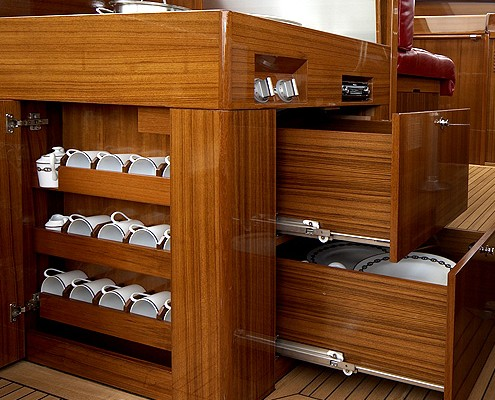 Lütje-Yachts Innenausbau