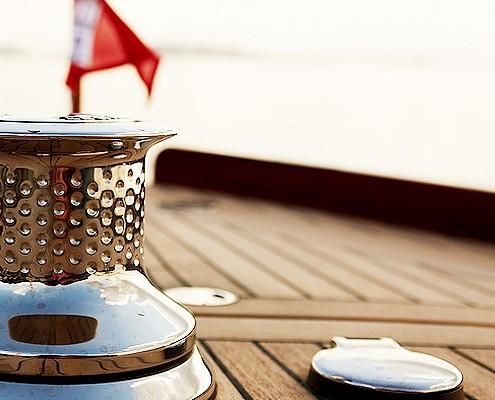 Lütje-Yachts Teakdeck